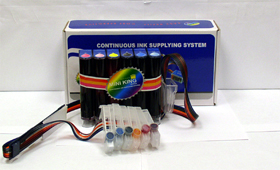 Continuous ink system for BCI-6 printers