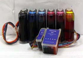 Continuous ink system for Epson 1280 printers