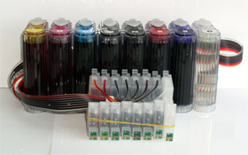 Continuous ink system for Epson R800 Printer