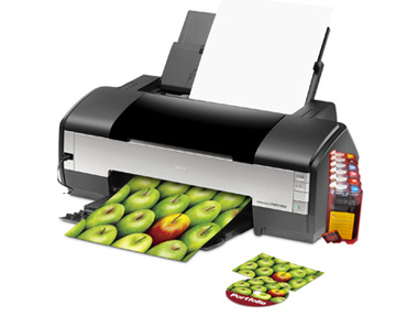 Epson 1400 Printer with a ink system
