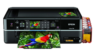 Epson Artisan 700 printer with a ink system